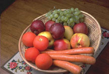picture of basket of produce