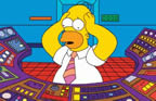 picture of homer simpson at nuclear console