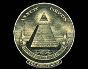 fractional reserve banking video link; thumb of pyramid crest from US currency