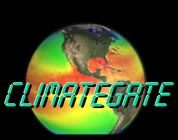 climategate video link; thumb of infrared view of earth with the word climate gate