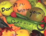 videos about food waste link; thumb of vegetables