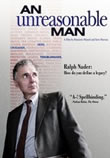 DVD cover for An Unreasonable Man, 2005; click to view on Amazon dot com