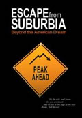 DVD cover for Escape From Suburbia - Beyond the American Dream