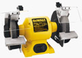 image of Dewalt Bench Grinder, 6-inch, heavy-duty; click to view on Amazon dot com