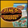 book cover for Jim's Organic Coffee; click to view on Amazon dot com